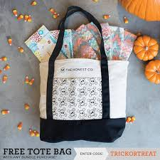 free honest company halloween tote code new or next bundle order