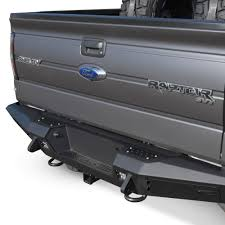 2014 Ford Raptor Truck Accessories - add honeybadger rear bumper raptorparts com