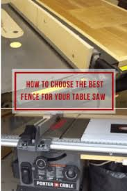 aftermarket table saw fence systems choosing the best table saw fence all you need to know