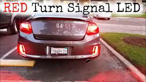 new red led turn signal bulb youtube