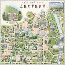 University Of Montana Map by Xplorer Maps U2013 University Of Montana Campus Map Release