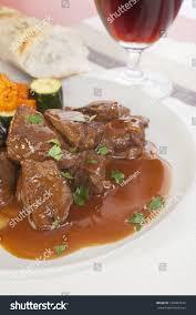 cuisine flamande belgian cuisine carbonnade de boeuf stock photo 104402672