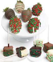 christmas chocolates christmas chocolate covered strawberries cheesecake pops at from
