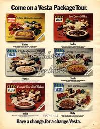 cuisine ad vesta meals ad from the 1970s you were considered sophisticated