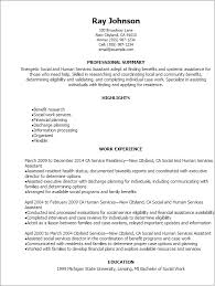 Sample Of Social Worker Resume by Professional Social And Human Services Assistant Resume Templates