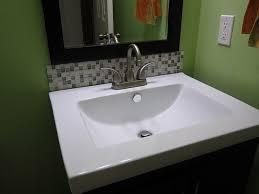 bathroom sink backsplash ideas stylish bathroom sink backsplash ideas with excellent ideas