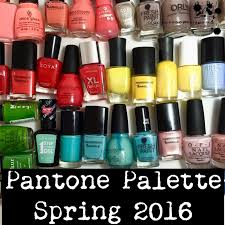 trends pantone spring 2016 nail polish recommendations