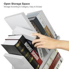 tribesigns 9 shelf tree book shelf modern bookcases and shelves