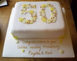 50th wedding anniversary cakes 50th wedding anniversary cake guru designs 50th wedding