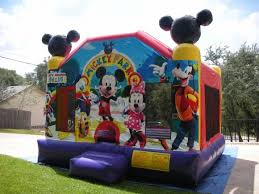 moonwalks in houston mickey mouse moonwalks rentals bounce house houston tx