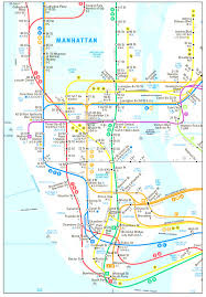 Lincoln Center New York Map by New York City Subway Map In Subway Map New York City Evenakliyat Biz