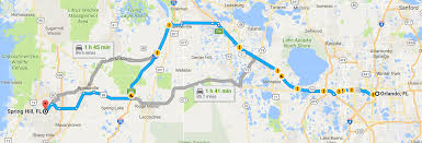 Map Of Downtown Orlando by From Spring Hill To U2026 Homes Of Hernando