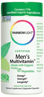 rainbow light men s one multivitamin review rainbow light certified organics men s multivitamin