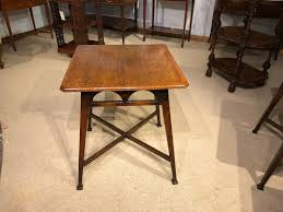 Oak Bistro Table An Arts Crafts Period Solid Oak Pub Table 1900 From