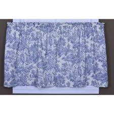 Toile Window Valances One Allium Way Lablanc Toile Tier Curtain U0026 Reviews Wayfair