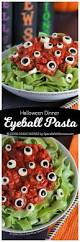 eyeball pasta halloween dinner idea spend with pennies