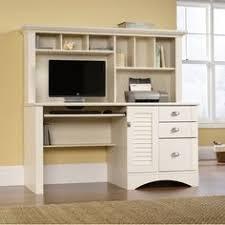 inval computer desk with hutch inval computer credenza work center with hutch espresso wengue