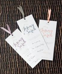 layered wedding programs 7 steps to make your own diy layered wedding programs my someday