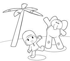 pocoyo coloring pages1 2nd birthday pocoyo party ideas 2013