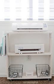 Nailed It Desk Organizer by Easy Diy Craft Cart Perfect Silhouette Storage Make It And