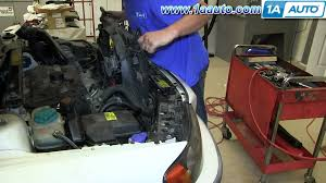 how to install replace engine radiator cooling fan 2001 03 volvo