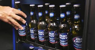 Case Of Bud Light Out Of Beer Bud Light U0027s Smart Fridge Will Tell You