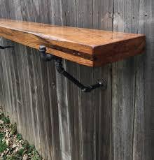 wall mounted pub table the lodge mantel wall mounted bar table shelf reclaimed wood