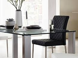 Dining Tables  Kitchen Tables Furniture Village - Kitchen glass table
