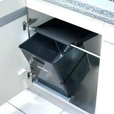 poubelle placard cuisine poubelle placard cuisine poubelle de placard portasac 23 l noir