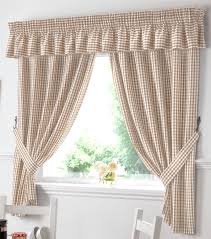 Window Treatment Valances Kitchen Adorable Cotton Cafe Curtains Kitchen Window Treatments