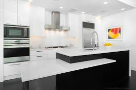 kitchen beautiful rectangle modern white kitchen island design