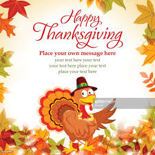 happy thanksgiving text message vector getty images