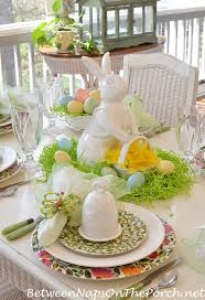 Easter Table Decorations Australia by Spring Easter Table Setting With Spode Emma U0027s Garland U0026 Bunny