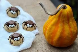 spider peanut butter cookies