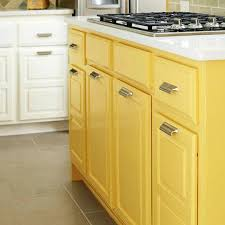 want to amp up a neutral kitchen try a bright yellow island kitchn