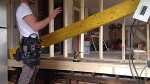 Laminate Floor Joist Span Table How To Install Load Bearing Beam Laminated Veneer Lumber Lvl