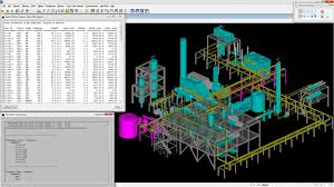 design software 3d process plant design software bentley plantwise