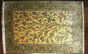 vendita tappeti orientali emporio tappeti persiani by paktinat qom seta cm 118x79 firmato