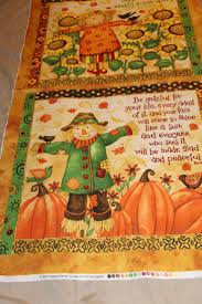fall harvest thanksgiving large pillow panel 100 cotton