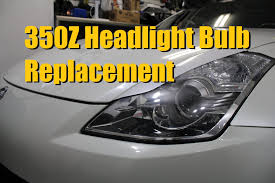 nissan skyline xenon lights nissan 350z headlight bulb replacement factory hid 2006 2009