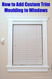 Adding Trim To Kitchen Cabinets by Diy How To Add Trim Moulding To Your Windows Excellent Diy With