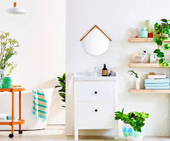 how to use indoor plants to freshen up your bathroom