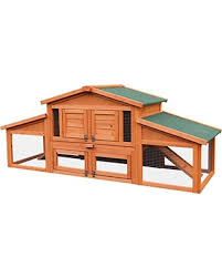 Rabbit Hutch Wood Sweet Deal On Merax 70 Inch Wooden Rabbit Hutch Outdoor Pet House