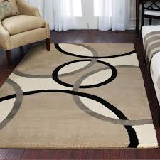 Brown And Beige Area Rug Accent Rugs Walmart Com