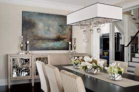 buffet table dining room mirror above buffet table dining room transitional with mirrored