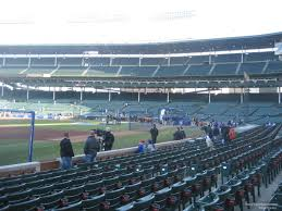 Chicago Cubs Seat Map by Wrigley Field Section 8 Chicago Cubs Rateyourseats Com
