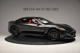 maserati supercar 2016 2016 maserati granturismo convertible mc stock m1458 for sale