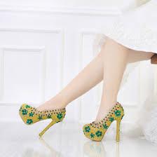 wedding shoes gold color rhinestone wedding shoes gold color nz buy new rhinestone
