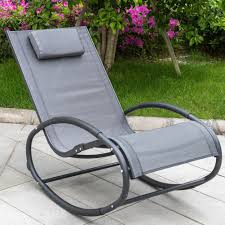Anti Gravity Rocking Chair by Sundale Outdoor Patio Aluminum Zero Gravity Chair Orbital Rocking