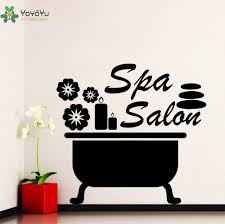 online buy wholesale beauty salon wall stickers quotes from china girls beauty salon wall decal quotes spa salon vinyl wall stickers special design bathroom decor flowers